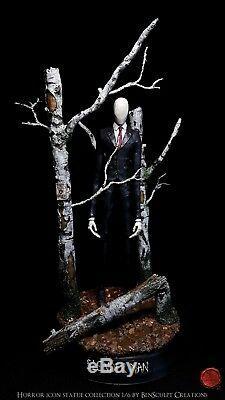 SLENDER MAN STATUE 1/6 Horror icon resin figure Slenderman creepypasta