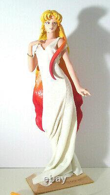 Sailor Moon Galaxia resin statue, handmade OOAK figurine 1/4 custom figure 15