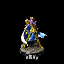 Saint Seiya Milo Scorpio Resin GK Statue 12 Gold Saints Series Action Figure New