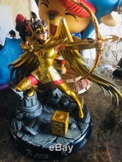 Saint Seiya Sagittarius Aiolos Resin GK Statue 12 Gold Saints Figure New 18inch