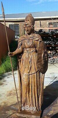 Sculpture Greek Art Garden Ornament Home Decor Figurine Statue Athena 2.2m Syd