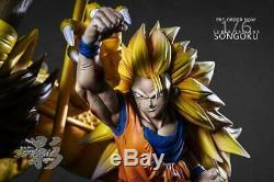 Shadow Dragon Ball Super Saiyan 3 Goku Dragon Fist Resin Statue Figure MRC Xceed