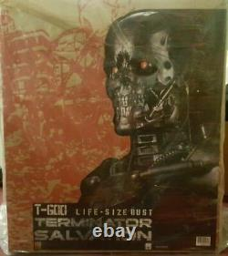 Sideshow 11 Scale Life-size Terminator T-600 Endoskeleton Bust Statue Figure