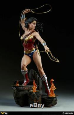 Sideshow 1/4 Scale 300664 Wonder Woman Resin Female Figure Statue Toys Presale