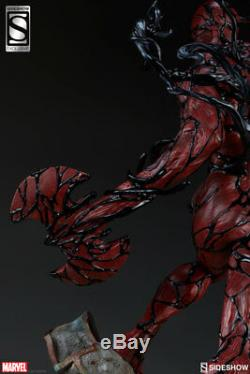 Sideshow CARNAGE EXCLUSIVE PF Figure Statue Marvel Sealed Rare Spider-Man Venom