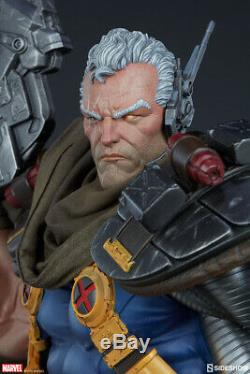 Sideshow Collectibles Marvel Cable Premium Format Statue NEW IN BOX, SEALED