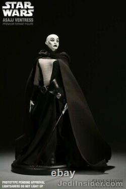 Sideshow EXCLUSIVE Star Wars Premium Format Figure ASAJJ VENTRESS 1/4 Statue MIB