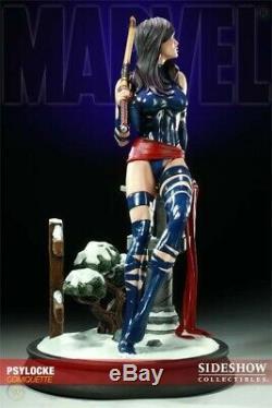 Sideshow Exclusive Psylocke Comiquette Premium Figure Statue X-men