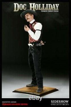 Sideshow Exclusive Six Gun Doc Holliday 1/4 Premium Format Figure 118/125 Statue