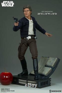 Sideshow Han Solo Star Wars Statue Premium Format Figure Brand New IN STOCK
