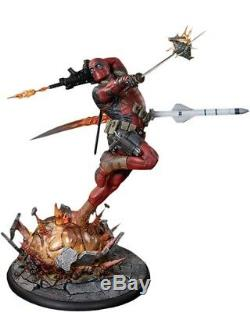 Sideshow Marvel Deadpool Heat Seeker Premium Format Figure Statue #1020/2500