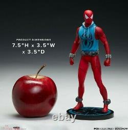 Sideshow × PCS 906308 1/10 Spider-Man Scarlet Spider Comics Figure Statue Model