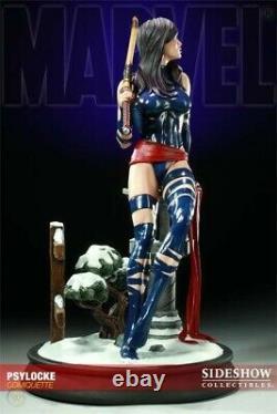 Sideshow Psylocke Comiquette Premium Figure Statue X-men