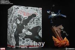 Sideshow Spider-man Symbiote Costume Premium Format Figure Black 138/1250