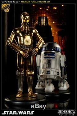 Sideshow Star Wars C-3po And R2-d2 Premium Format Figure 1/4 Statue Exclusive