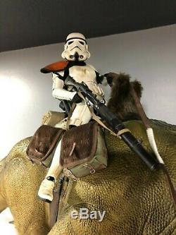 Sideshow Star Wars Dewback 1/6 Figure Statue Limited Edition