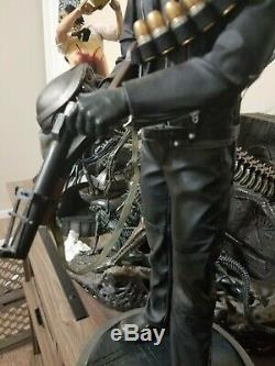 Sideshow Terminator T2 T-800 Arnold Premium Format Statue HUGE 19 Resin Figure