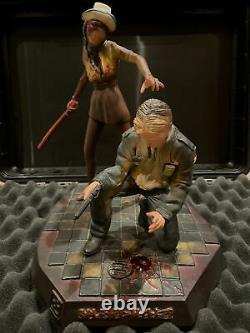 Silent Hill 2 Figure James Sunderland & Nurse OXMOX Studio / Muckle 2001 V RARE