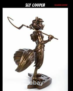 Sly Cooper Classic EXCLUSIVE Bronze Polystone Resin Statue Figure Variant 13.5