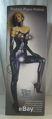 Sorayama Latex Doll Statue 044/500 Black Ver. Yamato Fantasy Figure Gallery NEW