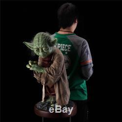 Star Wars Life Sized 11 Custom Master Yoda Resin Statue Figure 85CM 33Inches
