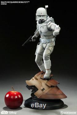 Star Wars Statue Figure Concept Artist Ralph McQuarrie Boba Fett Sideshow