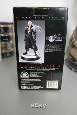 Statue Final Fantasy VII 7 Sephiroth 1/8 18 ColdCast Resin figure Kotobukiya