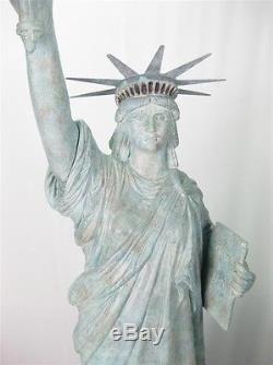 Statue Of Liberty Large 6ft Garden/indoor Resin Fibreglass New York Figure Prop