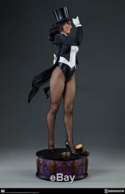 Statue Zatanna Premium Format Figure Resine DC Comics Sideshow En Stock