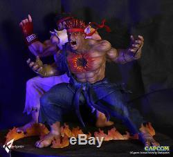 Street Fighter Kinetiquettes Evil Ryu Resin Figure Figura Statue. Pre-order
