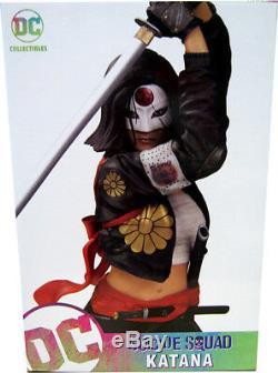 Suicide Squad Movie 12 Inch Statue Figure Katana