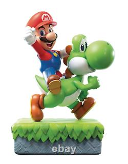 Super Mario Mario and Yoshi Statue by First 4 Figures