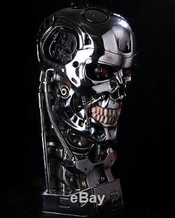 Terminator Arnold Schwarzenegger T2 T800 skull figure Resin statue IN STOCK