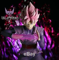 UK Studio Dragon Ball Super Saiyan Rose Goku Black Resin Statue Figure GK PREODR