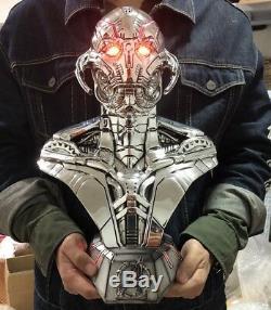 Ultron Avengers Age of Ultron Resin Bust Statue Figure RARE Replica LED EYE 15
