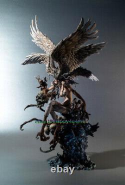 Unpainted 430mm Garage Kits Resin Devil Man Figure Model Unassembled Statue NEW