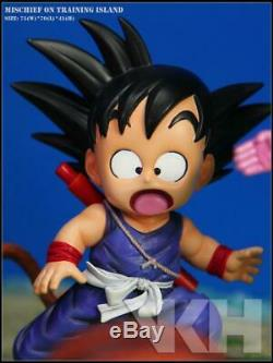 VKH Dragon Ball Goku Chichi Master Roshi Kame Island Resin Statue Figure MRC