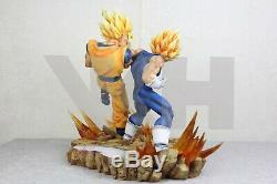 VKH Majin Vegeta Vs SSJ2 Son Goku Resin Statue Dragon Ball Figure DBZ Buu Gohan