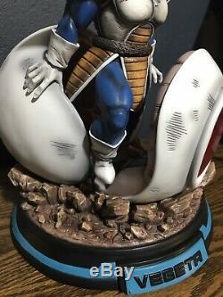 Vegeta Arrival DBZ Resin Statue RECAST Dragon Ball Figure NEW MRC XCEED