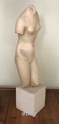 Vintage Metropolitan Museum of Art Roman Greek Aphrodite Sculpture Marble, 1993