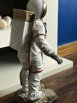 Vintage Spaceman Astronaut Statue Sculpture Figure Ornament Large 53 X 30cm New