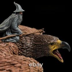 WETA The Lord of the Rings Gandalf on Gwaihir Statue Figure Model In Stock New