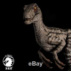 W-Dragon 1/8 Female Velociraptor Statue Raptor Dinosaur Figure Collector Toys