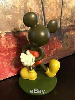 Walt Disney's Mickey Mouse Large 12 Big figure Statue 1980's Resin RARE