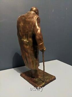 Winston Churchill Statue Sculpture
