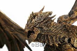 World of Warcraft Death Wing Resin GK Statue WOW Figure Bronze Stained 22H