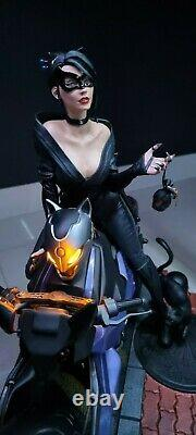 XM Studios Catwoman Statue Figure DC Comics Batman Marvel Sideshow (RECAST)