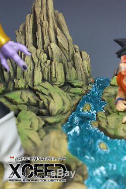 Xceed Super Saiyan Blue SSGSS Vegeta vs Golden Frieza Resin Statue Figure MRC