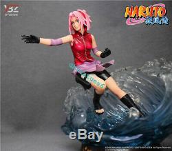 YBZ NARUTO Haruno Sakura Resin GK Statue Uchiha Sasuke Action Figure In Stock