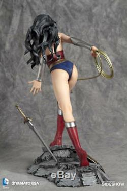 Yamato Fantasy Figure Gallery DC Wonder Woman Luis Royo Resin Statue Brand New